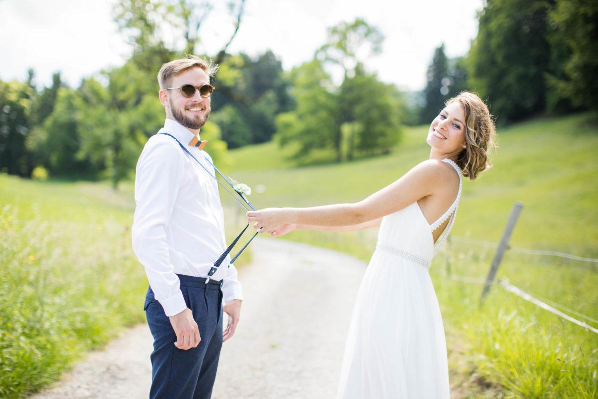 couple, mariage nature, mariage en gruyère