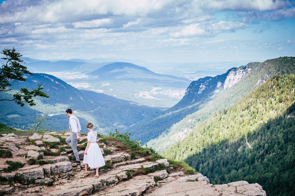 Shooting mariage, inspiration mariage, marige neuchâtel, Creux du Van