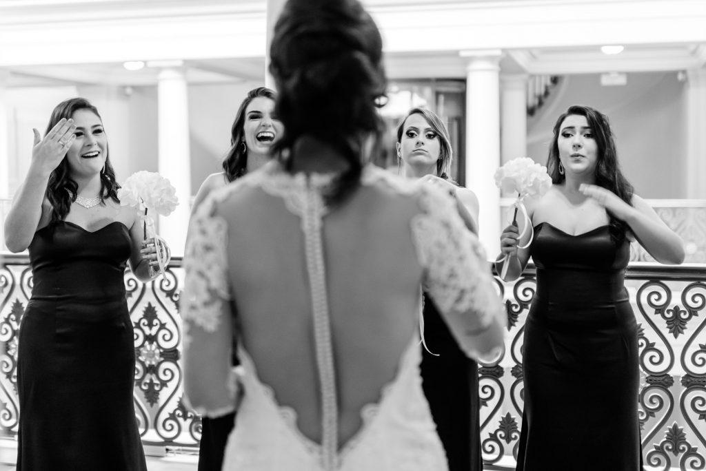 préparatif mariage, mariée et demoiselles d'honneur, reportage mariage