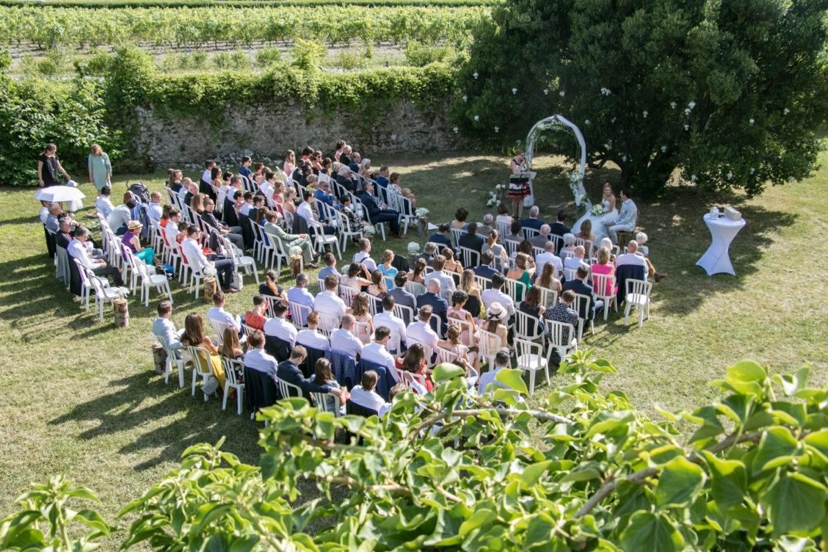Cérémonie laïque France, cérémonie château, mariage France, mariage château de Ripailles